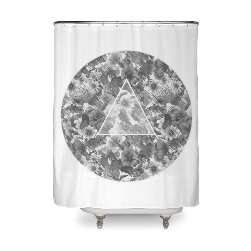 Flux 2.0 Home Shower Curtain by Chuck Pavoni