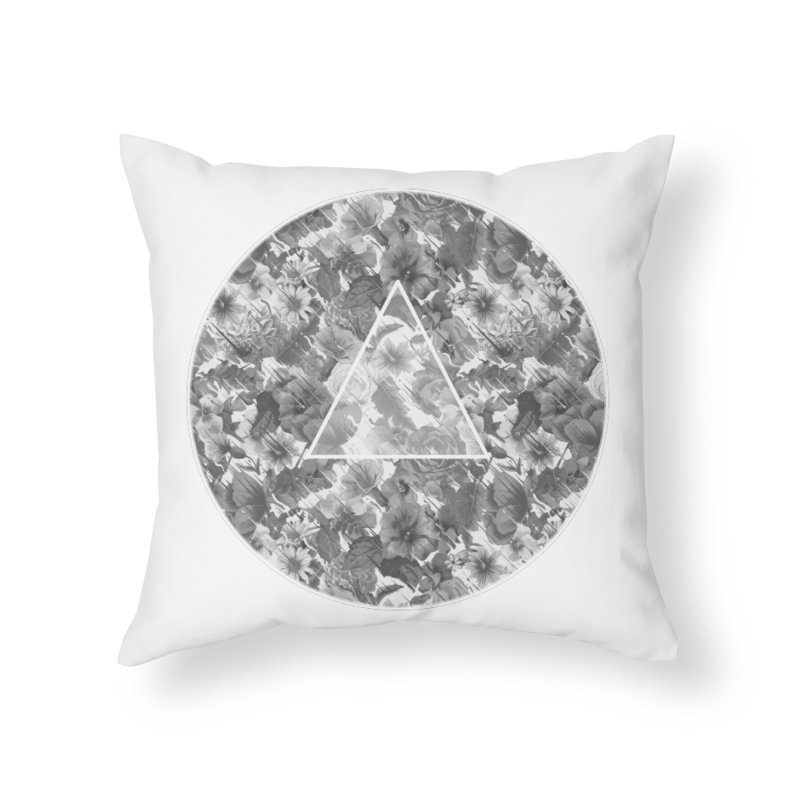 Flux 2.0 Home Throw Pillow by Chuck Pavoni