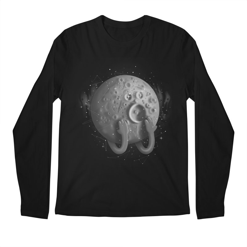 OMG, Space. Men's Longsleeve T-Shirt by Chuck Pavoni