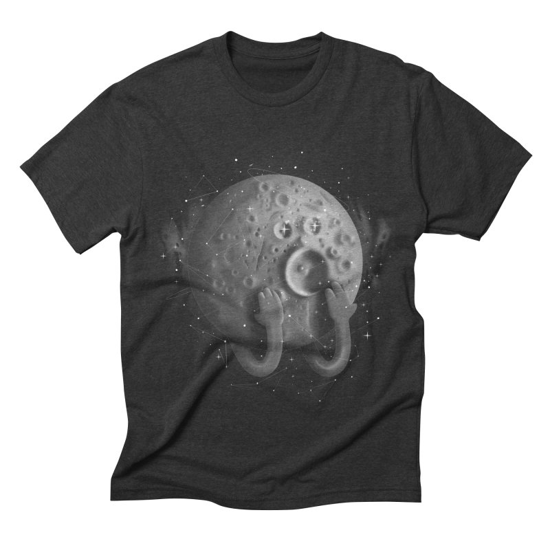 OMG, Space. Men's Triblend T-shirt by Chuck Pavoni