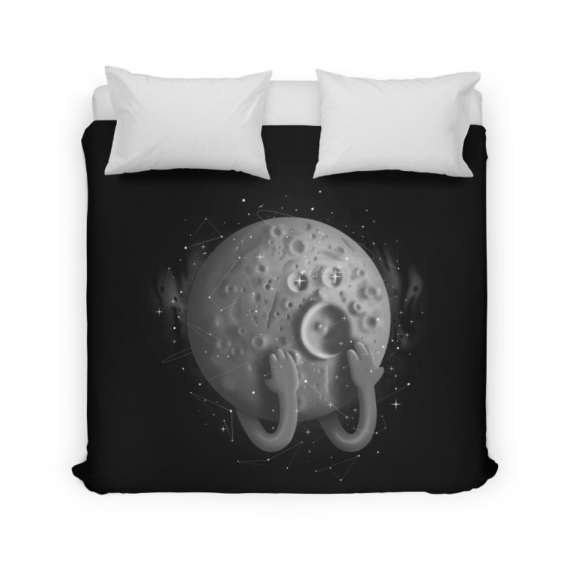 OMG, Space. Home Duvet by Chuck Pavoni