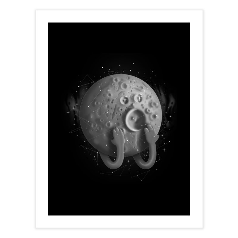 OMG, Space. Home Fine Art Print by Chuck Pavoni