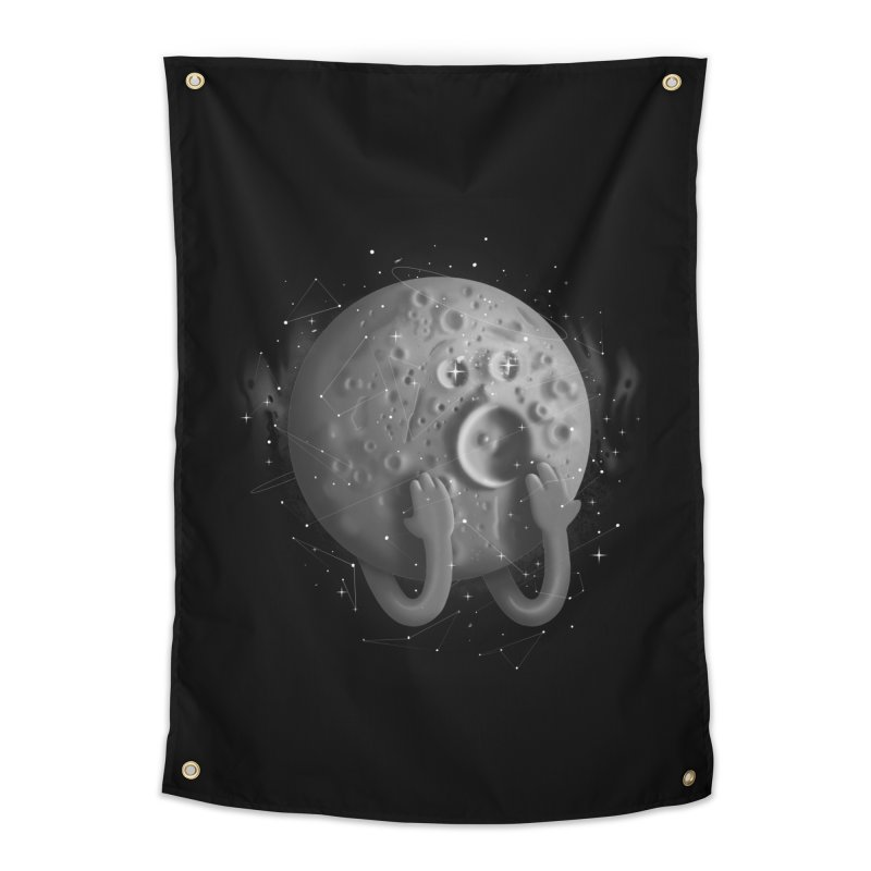 OMG, Space. Home Tapestry by Chuck Pavoni
