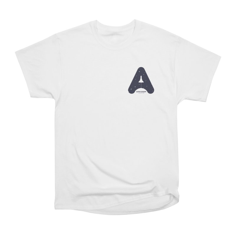 astro academy Men's T-Shirt by Chuck Pavoni