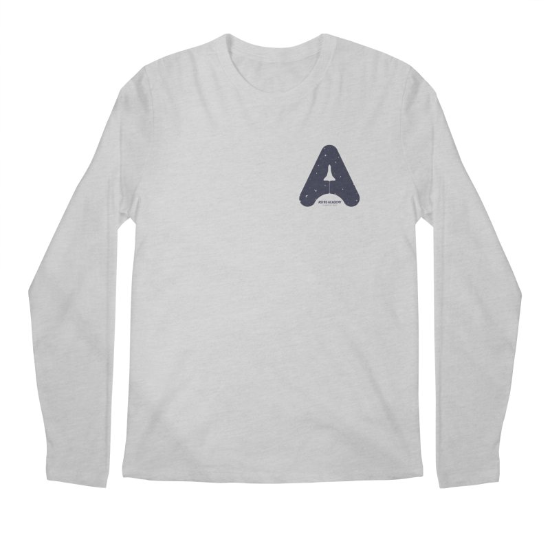 astro academy  Men's Longsleeve T-Shirt by Chuck Pavoni