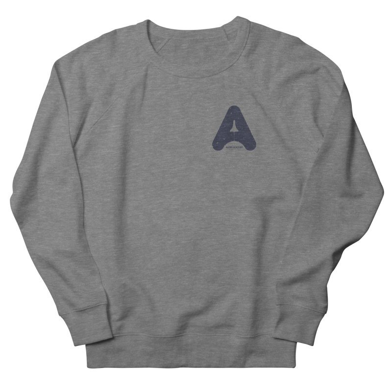 astro academy Women's French Terry Sweatshirt by Chuck Pavoni