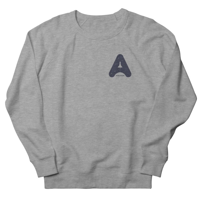 astro academy Men's French Terry Sweatshirt by Chuck Pavoni