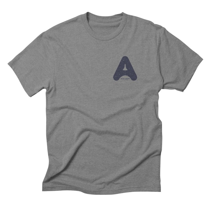 astro academy Men's Triblend T-Shirt by Chuck Pavoni