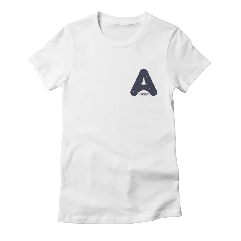 astro academy Women's T-Shirt by Chuck Pavoni