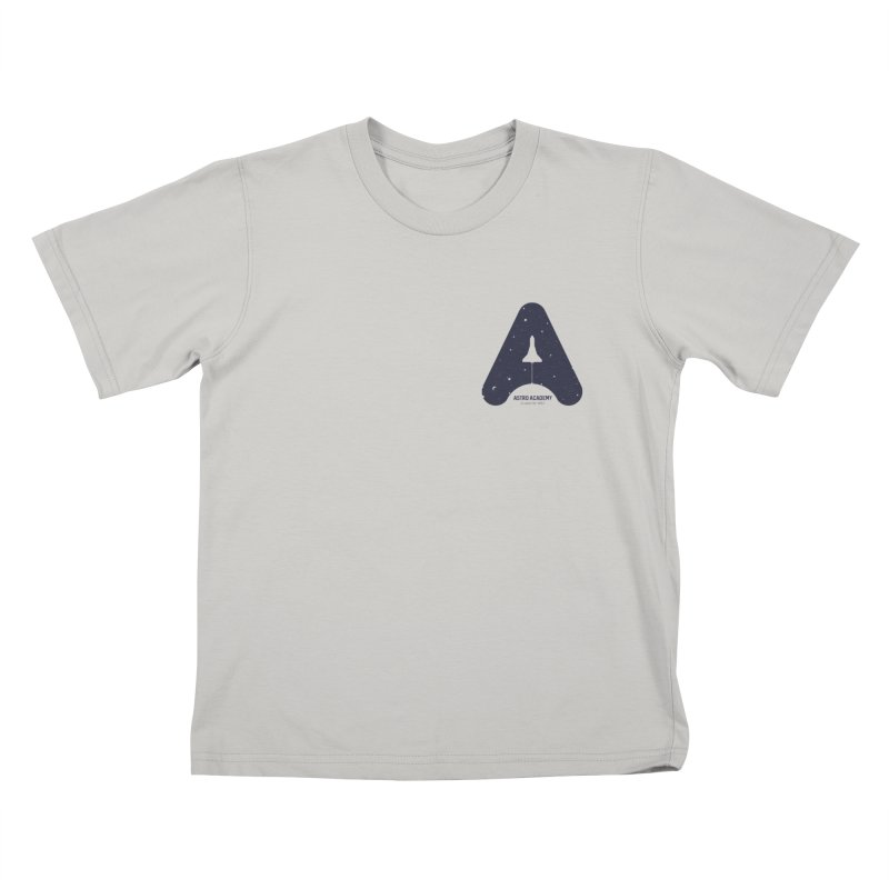 astro academy Kids T-Shirt by Chuck Pavoni