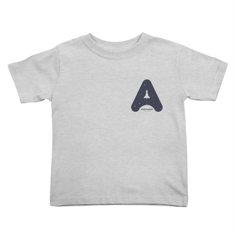astro academy  Kids Toddler T-Shirt by Chuck Pavoni