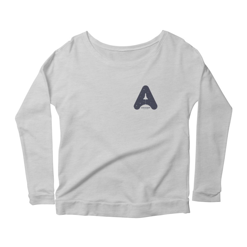 astro academy Women's Longsleeve Scoopneck  by Chuck Pavoni