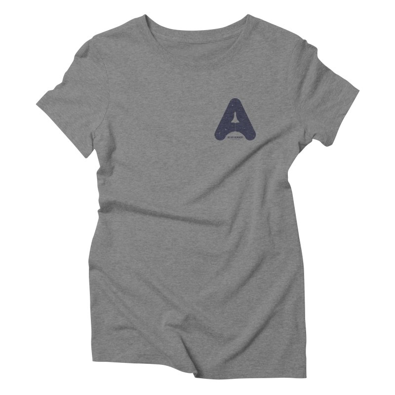 astro academy Women's Triblend T-Shirt by Chuck Pavoni