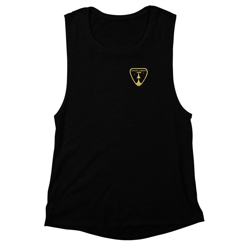 Space Cadet 20<><> Women's Muscle Tank by Chuck Pavoni