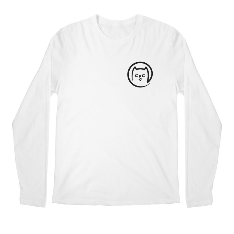 chuckpcomics logo Men's Regular Longsleeve T-Shirt by Chuck Pavoni