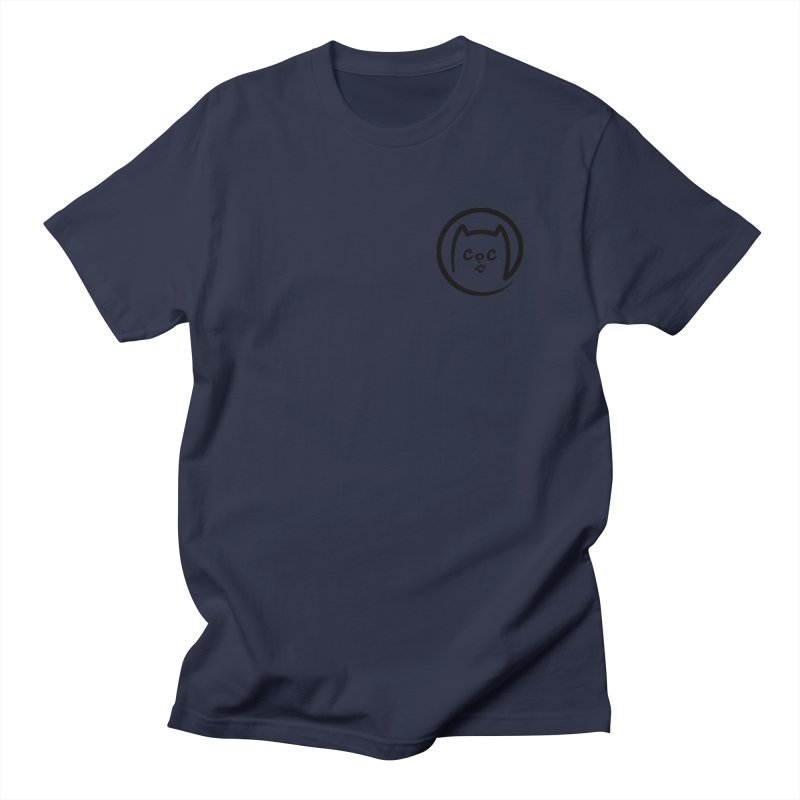 chuckpcomics logo Men's T-shirt by Chuck Pavoni