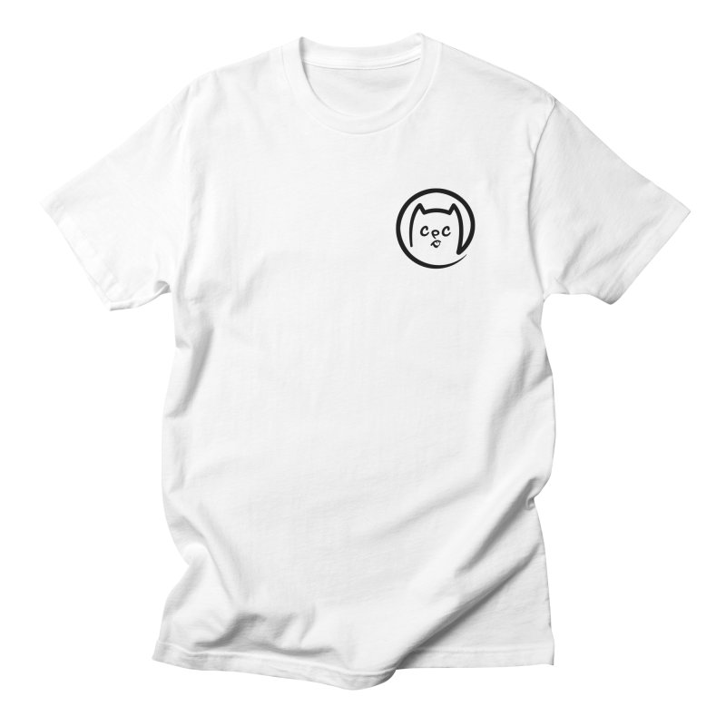 chuckpcomics logo Men's Regular T-Shirt by Chuck Pavoni