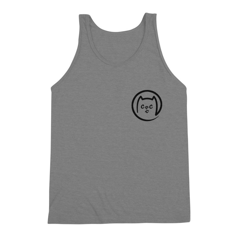 chuckpcomics logo Men's Triblend Tank by Chuck Pavoni