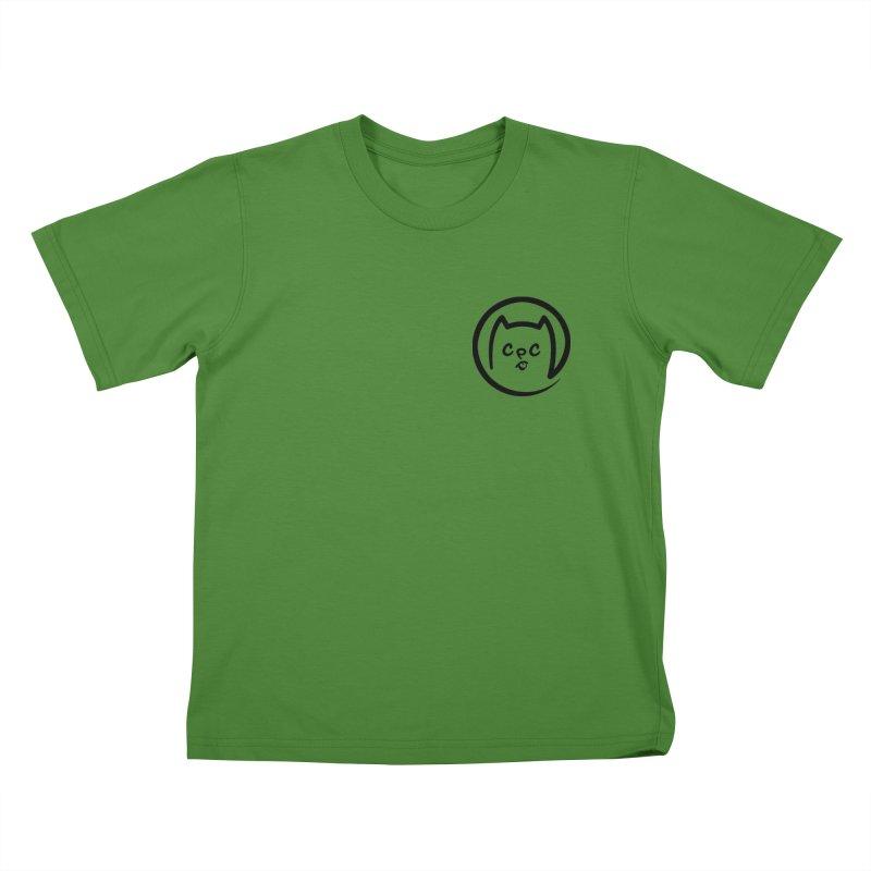 chuckpcomics logo Kids T-shirt by Chuck Pavoni