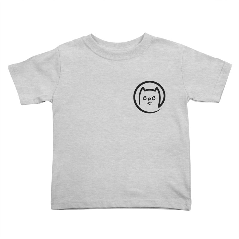 chuckpcomics logo Kids Toddler T-Shirt by Chuck Pavoni