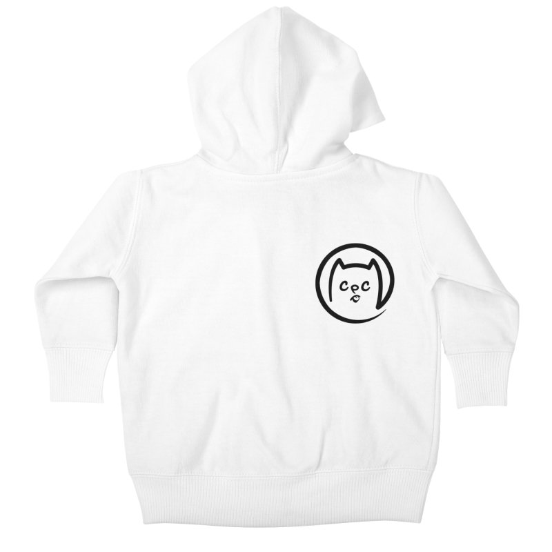 chuckpcomics logo Kids Baby Zip-Up Hoody by Chuck Pavoni