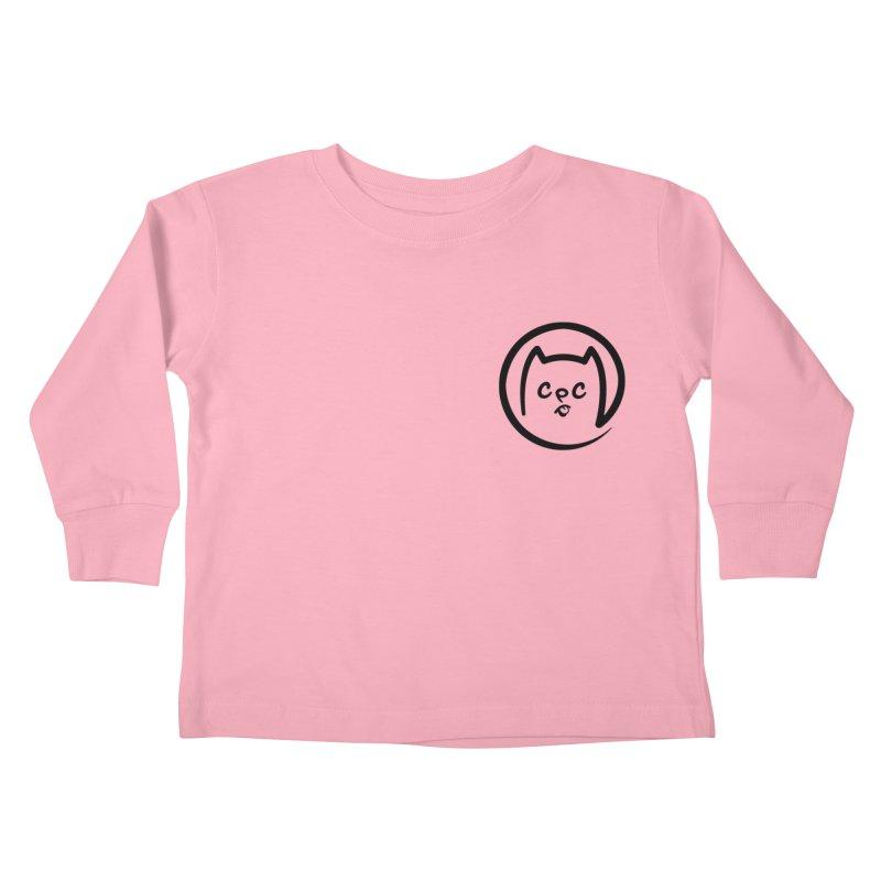chuckpcomics logo Kids Toddler Longsleeve T-Shirt by Chuck Pavoni