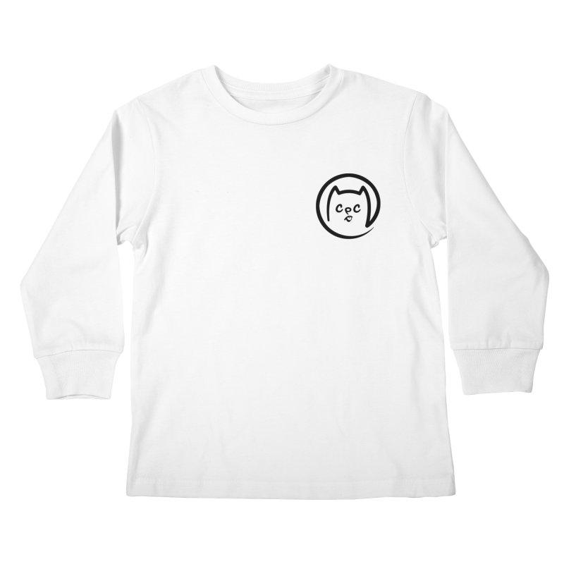 chuckpcomics logo Kids Longsleeve T-Shirt by Chuck Pavoni