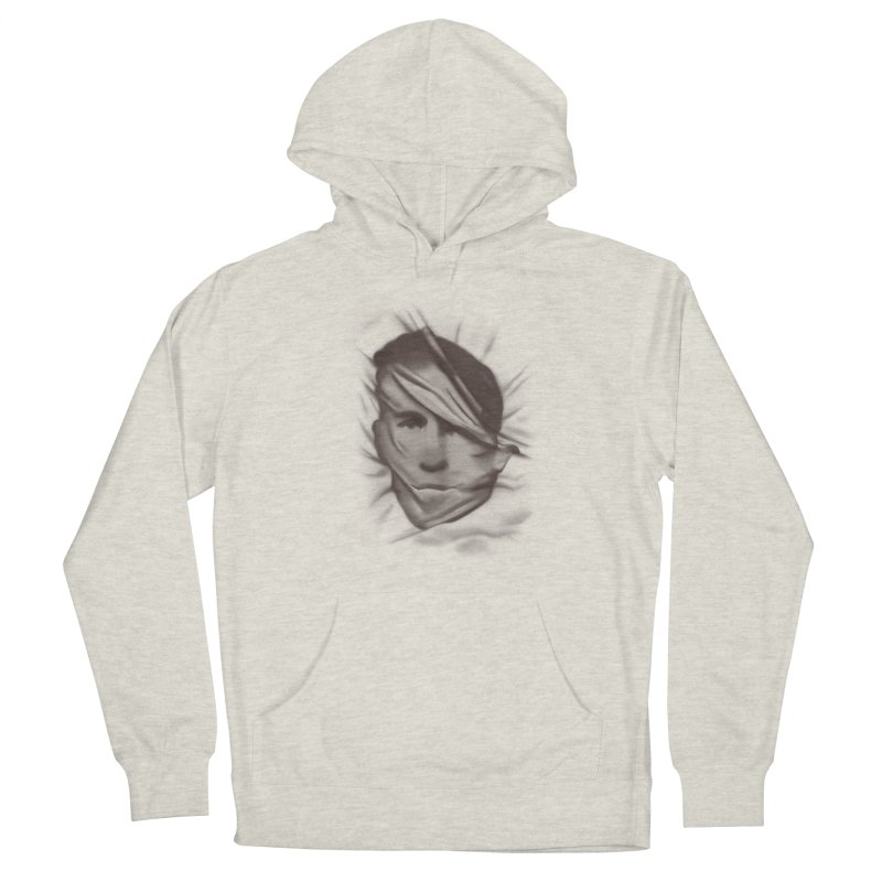 belie Men's French Terry Pullover Hoody by Chuck Pavoni