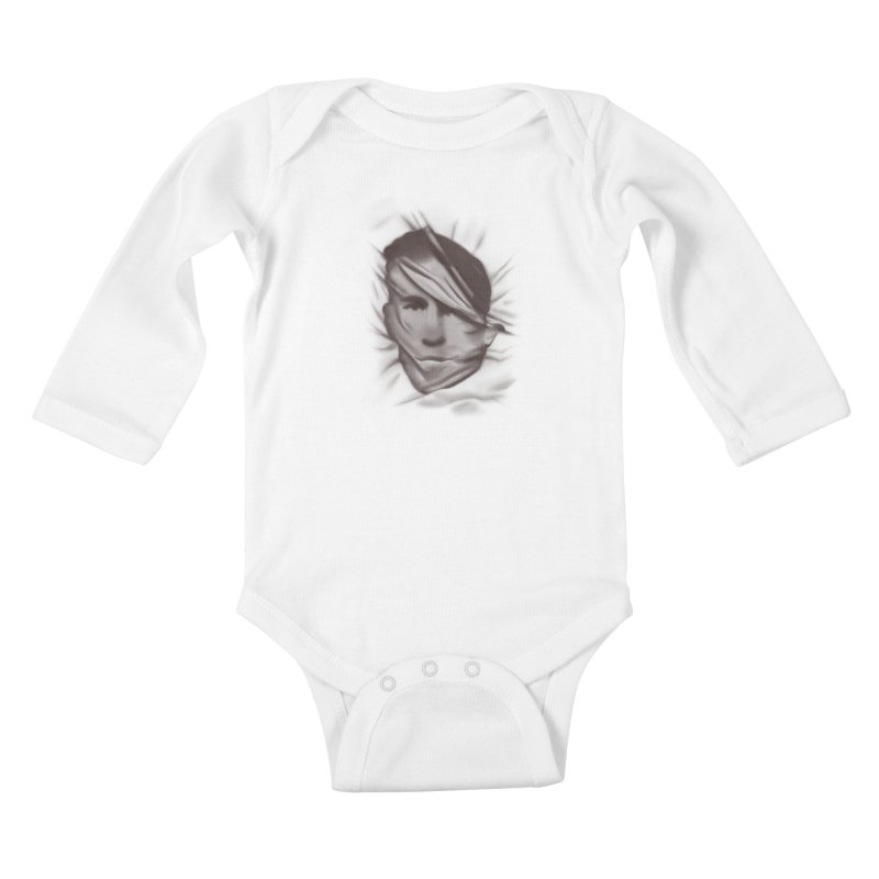 belie  Kids Baby Longsleeve Bodysuit by Chuck Pavoni
