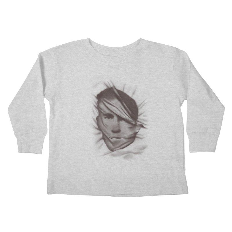 belie  Kids Toddler Longsleeve T-Shirt by Chuck Pavoni
