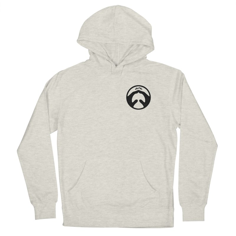 pray for peace Men's French Terry Pullover Hoody by Chuck Pavoni
