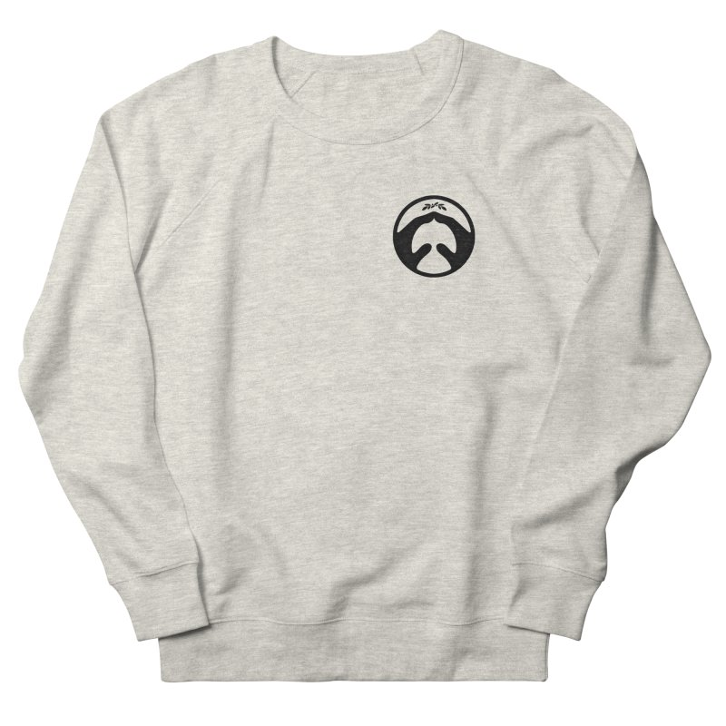 pray for peace Women's French Terry Sweatshirt by Chuck Pavoni