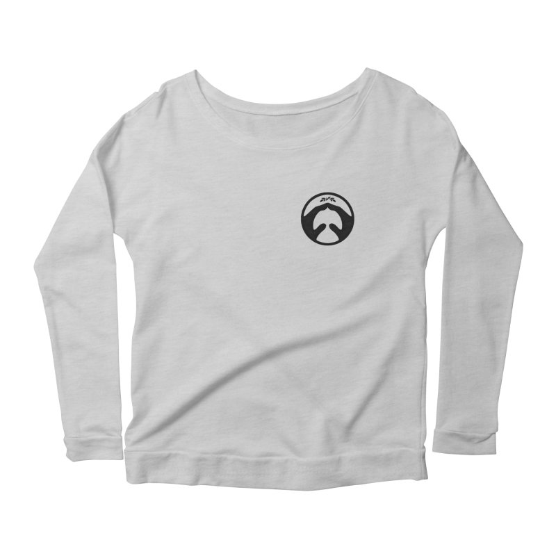 pray for peace Women's Longsleeve Scoopneck  by Chuck Pavoni