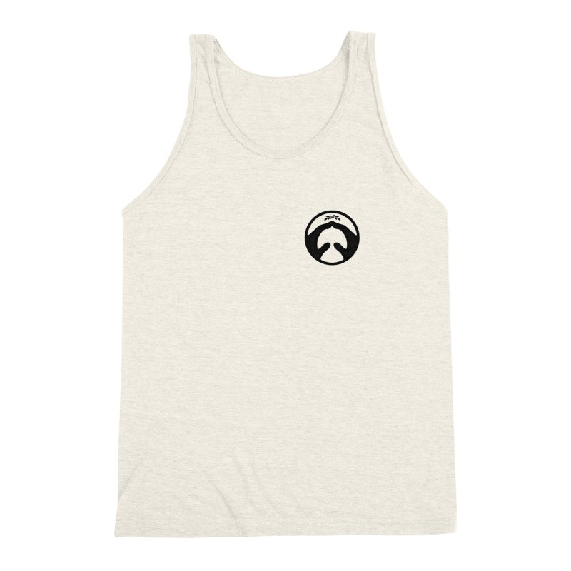 pray for peace Men's Triblend Tank by Chuck Pavoni