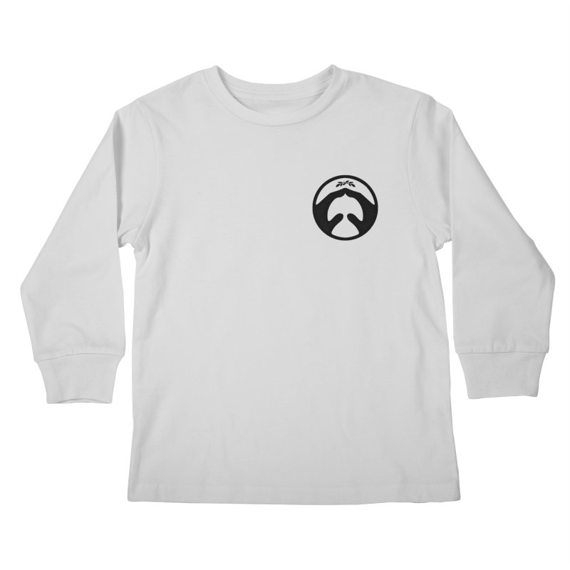 pray for peace Kids Longsleeve T-Shirt by Chuck Pavoni