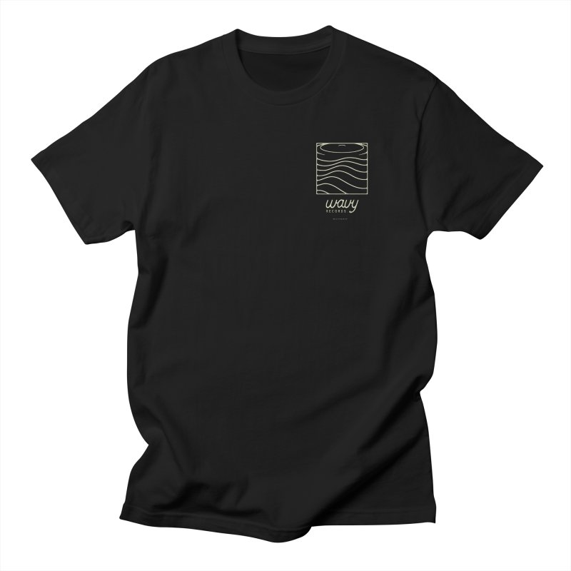 wavy records Men's T-Shirt by Chuck Pavoni