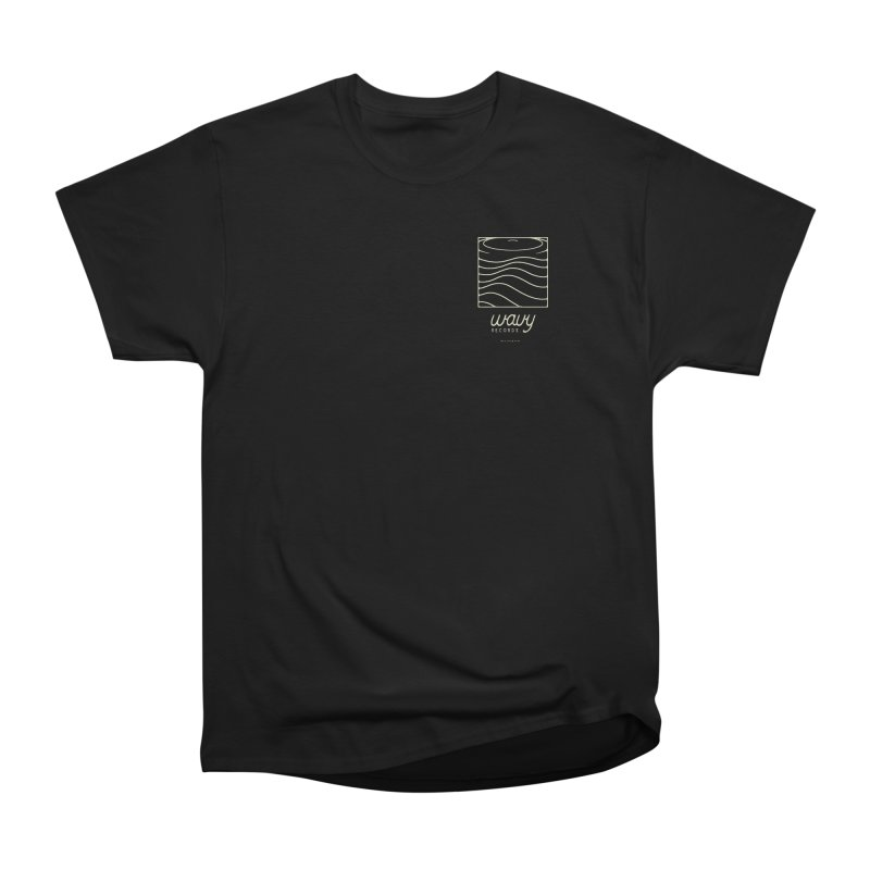 wavy records Men's Heavyweight T-Shirt by Chuck Pavoni