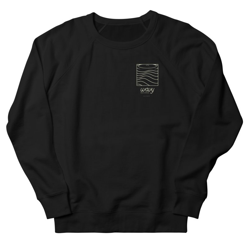 wavy records Women's Sweatshirt by Chuck Pavoni