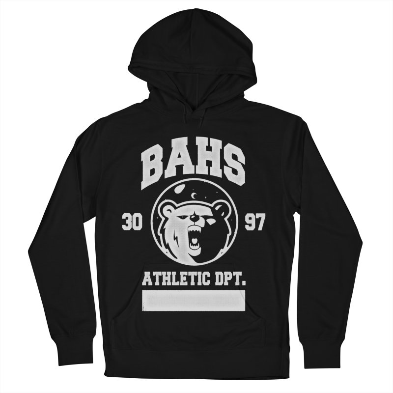 buzz Aldrin athletic dpt. Men's Pullover Hoody by Chuck Pavoni
