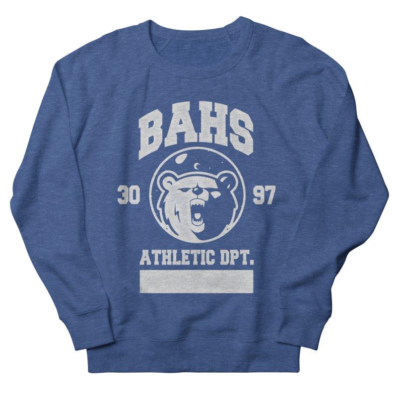 buzz Aldrin athletic dpt. Men's Sweatshirt by Chuck Pavoni