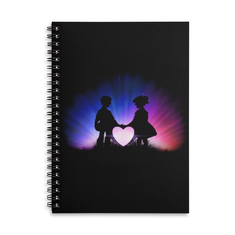 kismet Accessories Lined Spiral Notebook by Chuck Pavoni