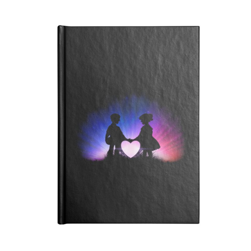 kismet Accessories Blank Journal Notebook by Chuck Pavoni