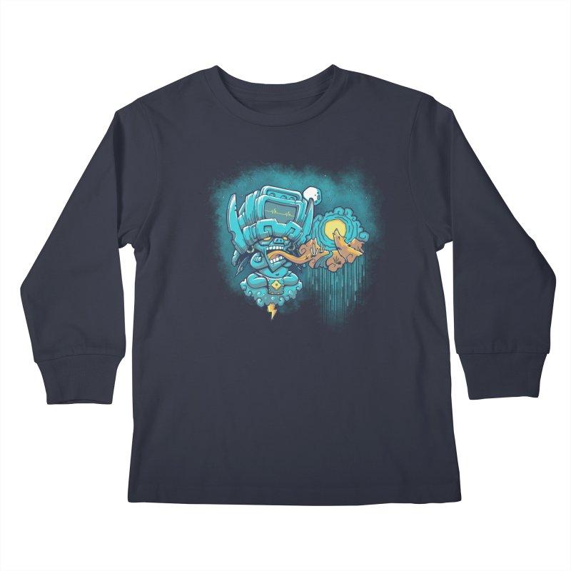 Cocijo's 925 Kids Longsleeve T-Shirt by chumpmagic's Artist Shop