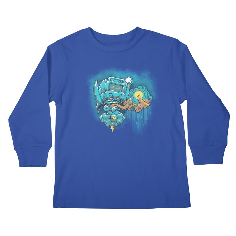 Cocijo's 925 Kids Longsleeve T-Shirt by chumpmagic's Artist Shop