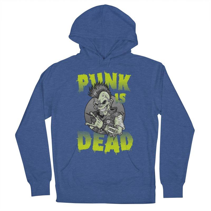 Punk Is Dead Men's Pullover Hoody by chumpmagic's Artist Shop