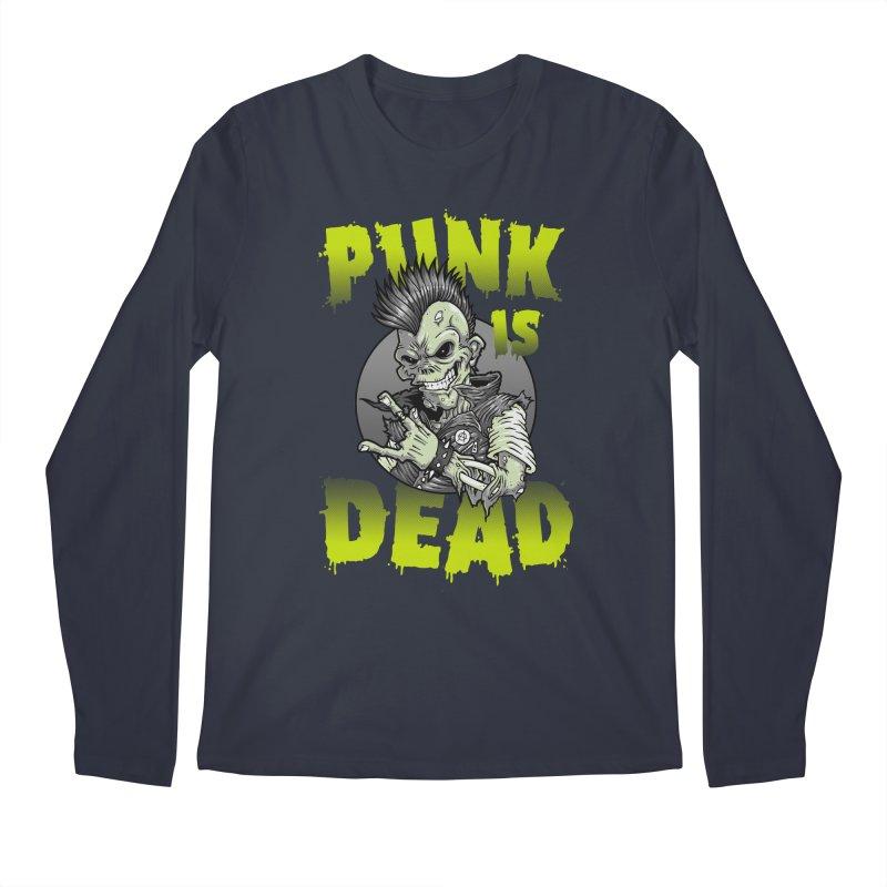 Punk Is Dead Men's Longsleeve T-Shirt by chumpmagic's Artist Shop