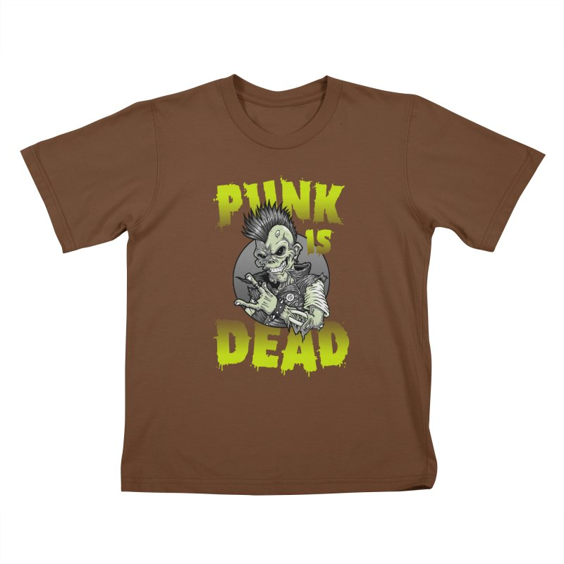 Punk Is Dead Kids T-shirt by chumpmagic's Artist Shop