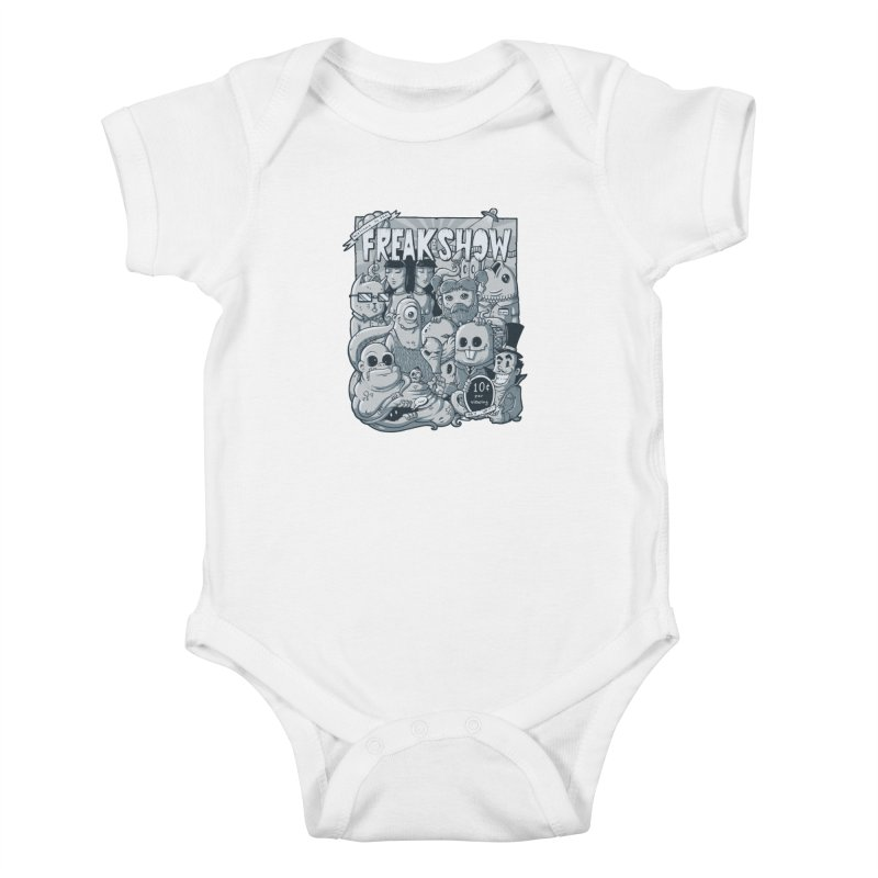 The Freak Show (10 cent per viewing) Kids Baby Bodysuit by chumpmagic's Artist Shop