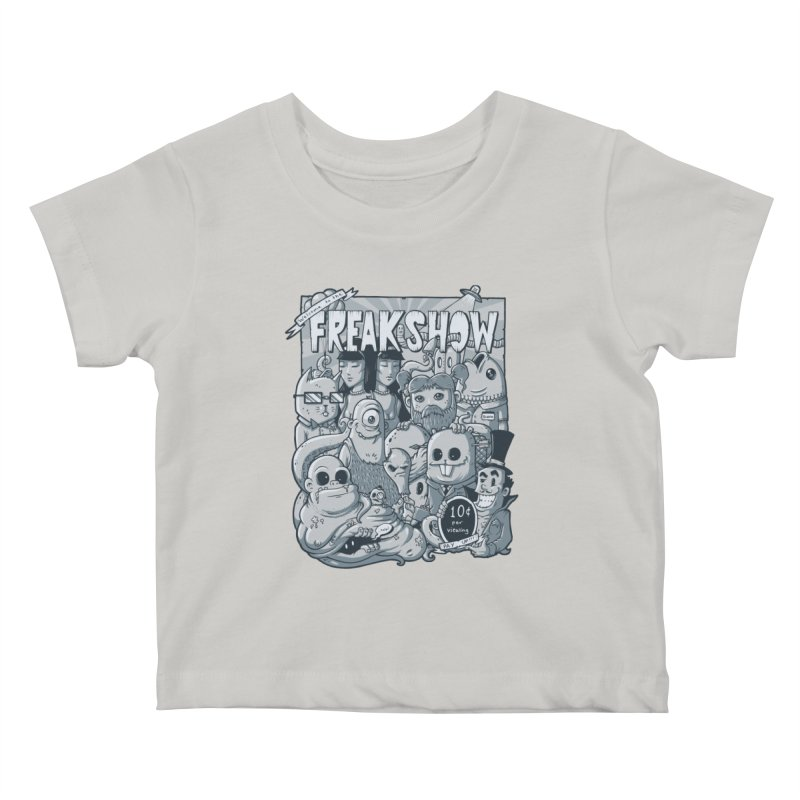 The Freak Show (10 cent per viewing) Kids Baby T-Shirt by chumpmagic's Artist Shop