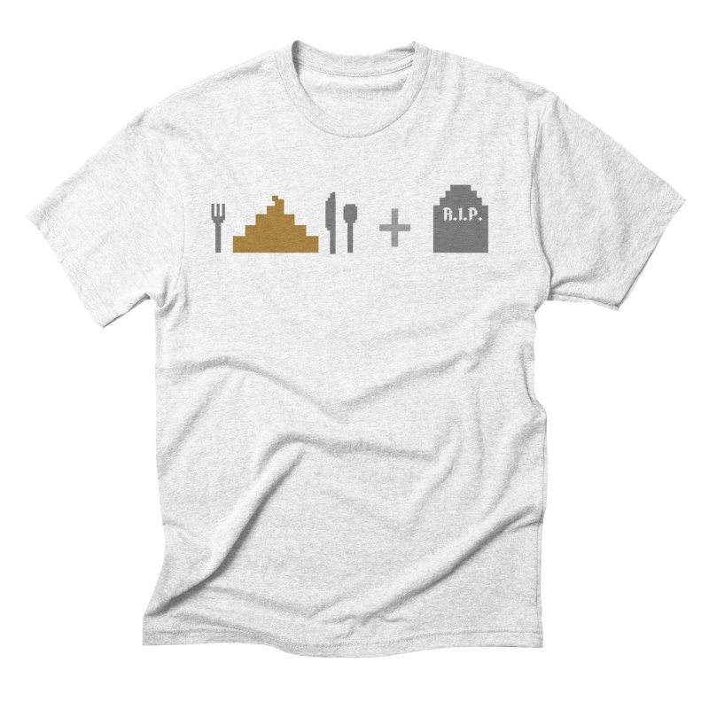 E. S. & D. Men's Triblend T-shirt by chumpmagic's Artist Shop